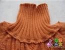 Присоединение воротника свитера — мк.