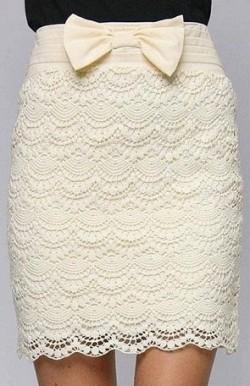 Узоры на юбке крючком — схемы.