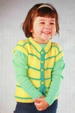 Желто-зеленый жилет