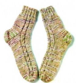 Меланжевые носки