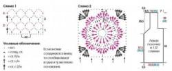 Удлиненный жилет с ажурными цветами. Вязание крючком для женщин