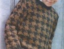 Детский пуловер спицами схемы. Пуловер спицами для мальчика