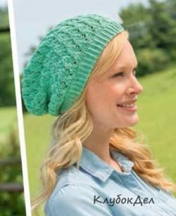 Женская шапочка спицами. Вязание для женщин с описанием и схемами