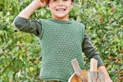 Жилет для мальчика спицами. Вязание для детей