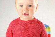 Детский пуловер поло